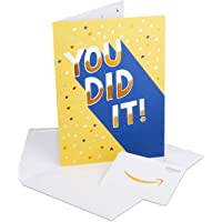 Gift Card in a Premium Greeting Card, Congratulations you Did it! - link image