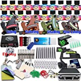 Dragonhawk Professional Tattoo Kit 4 Kinds Of Machines 20 Immortal Color Inks Top CE Power Supply D139EUYMX (D139EUYMX-EU)