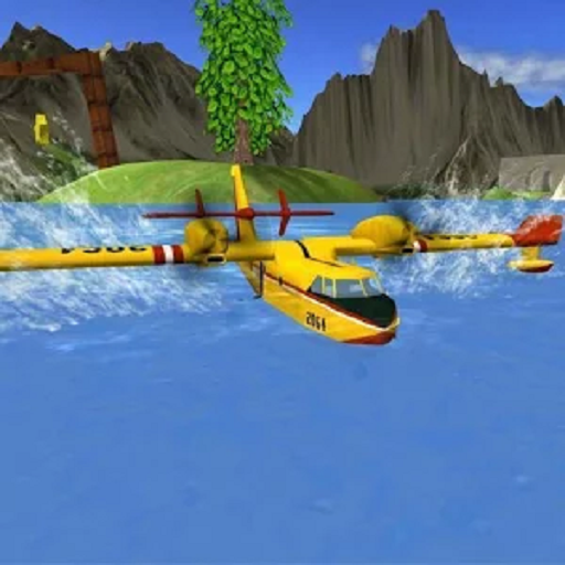 Airplane Flight Simulator RC - Fire Helicopter Games