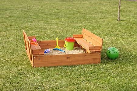 animalmarketonline Juegos de madera para jardín arena Niño Franco 100 cm: Amazon.es: Hogar