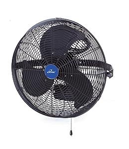 """iLIVING ILG8E14-15 Wall Mount Outdoor Waterproof Fan, 14"""", Black"""