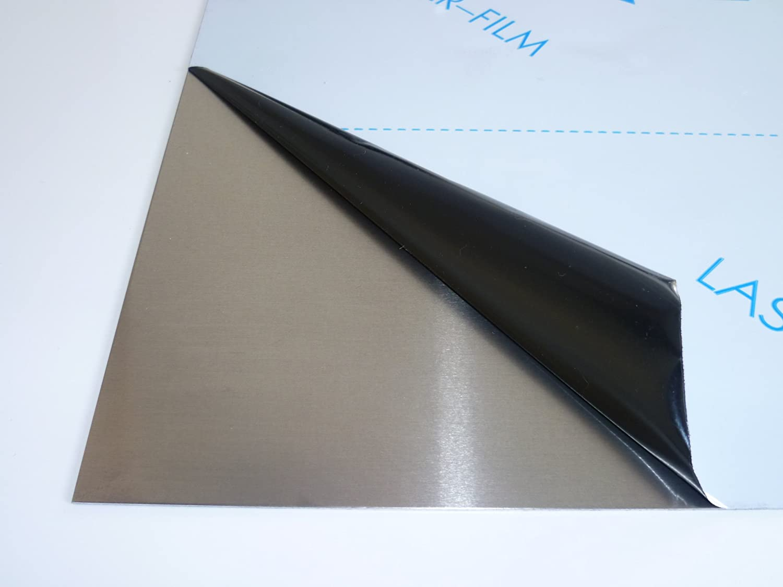 B /& T Panneau en aluminium m/étal 8/mm d/épaisseur ALM g4,5mn F 28/ Plaque Alu Embouti Blank naturel D/écoupage sur mesure 5083