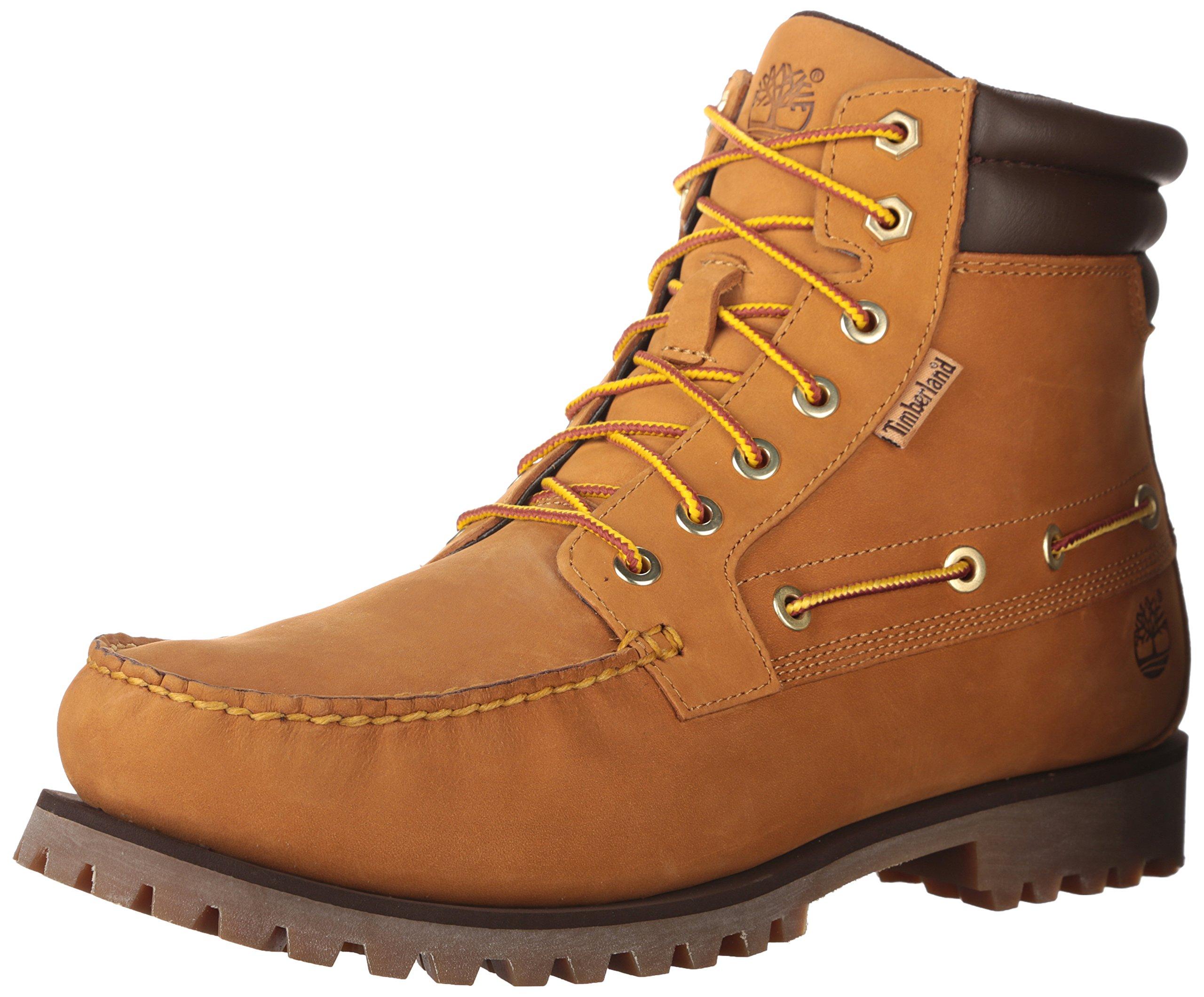 Timberland Men's Oakwell 7-Eye Lace-Up Boot,Wheat,8.5 M US