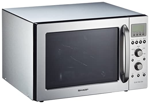 Sharp - Microondas R93Staa, 40L, 900W, Grill Simultaneo ...