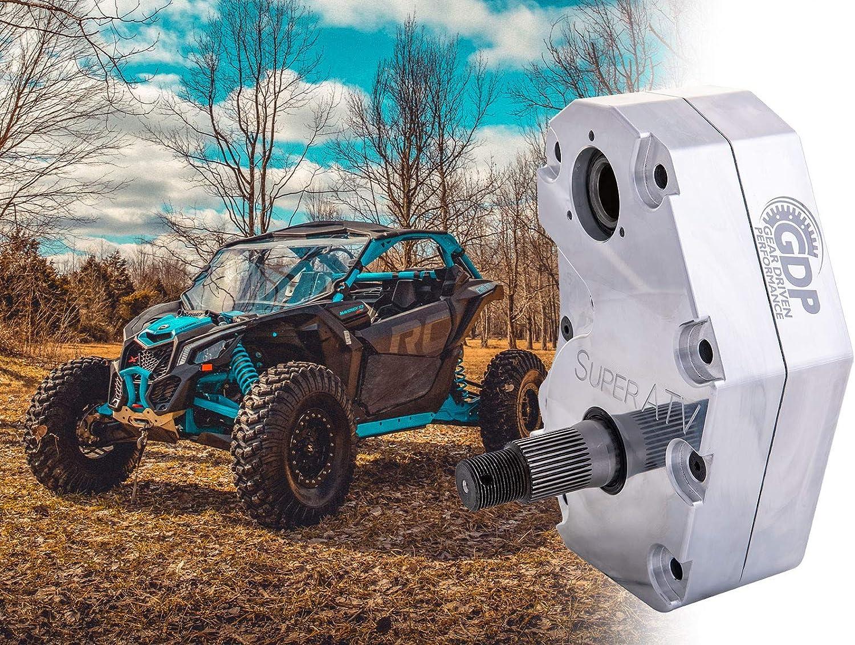 30/% Gear Reduction See Fitment SuperATV 6 Portal Gear Lift for Can-Am Maverick X3 - Cast Aluminum
