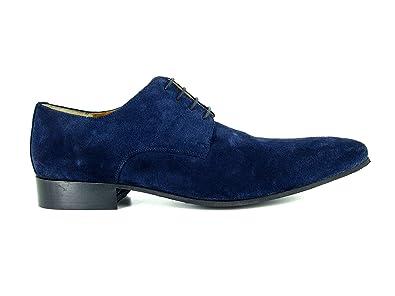 J.BRADFORD Chaussures Derby JB-STEWARD Marine - Couleur - Bleu jaQrmGDwXL