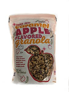 Trader Joe's Caramel Apple Flavored Granola 12 oz.