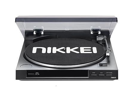 Nikkei NTT01U - Toca Discos (alimentación de 230 V, frecuencia de ...