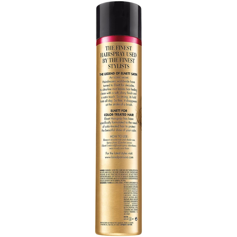 Amazon Loral Paris Elnett Satin Extra Strong Hold Hairspray