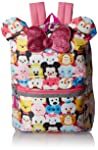 """Disney Tsum 16"""" Backpack with Bow Tote, One Size"""
