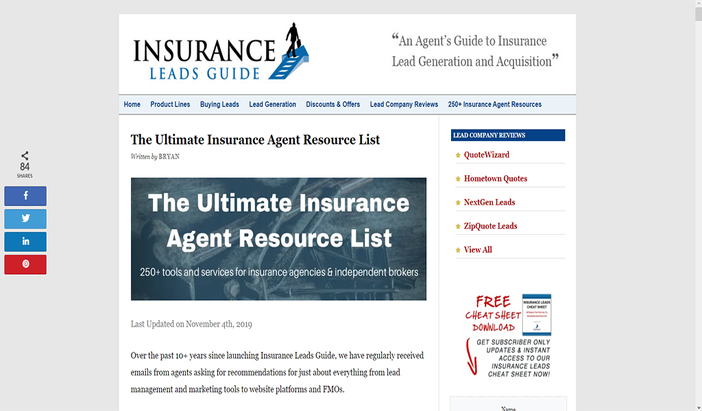 Amazon Com Insurance Leads Guide Appstore For Android