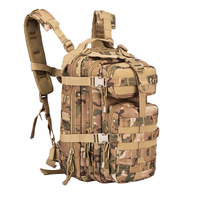 30 L Sport Outdoor Military Rucksacks Tactical Camping Hiking Trekking Small Assault Backpack Bag 08009B Multicam