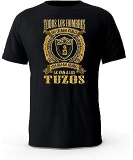 Solo Los Mejores Le Van al Pachuca Tuzos Futbol Mexico Black T-Shirt playera