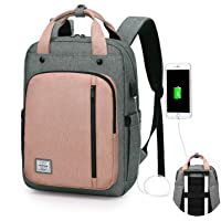 WindTook Mochilas Portatil para Mujer Mochila Ordenador Portatil 15.6 Pulgadas Multifuncional Bolso Mujer Impermeable…
