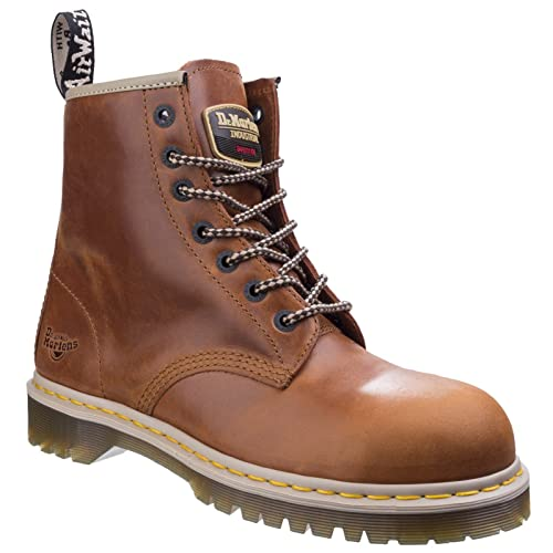 Toecap Leather Cushioned Martens Work 3 Air 13 Dr Sole Boots