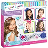 Make It Real Sweet n' Chic Headbands. Trendy and Stylish Tween Girls DIY Headband Kit Guides Kids to Create Five Unique Hair Headbands with Beads, Ribbons, Gems and More
