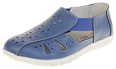 Footwear Studio Summer Fruits Coolers Damen Leder Geschlossene Ballerinas Schuhe