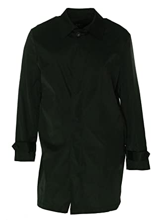 Lauren Ralph Lauren Mens Solid Packable Raincoat Black S