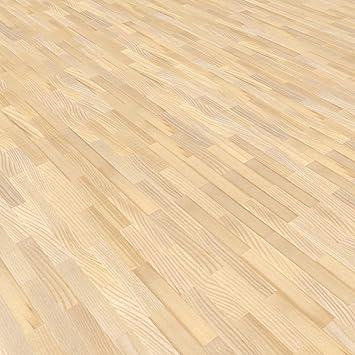 Mosaikparkett Esche W/ürfel hell//beige Rustikal Upfloor