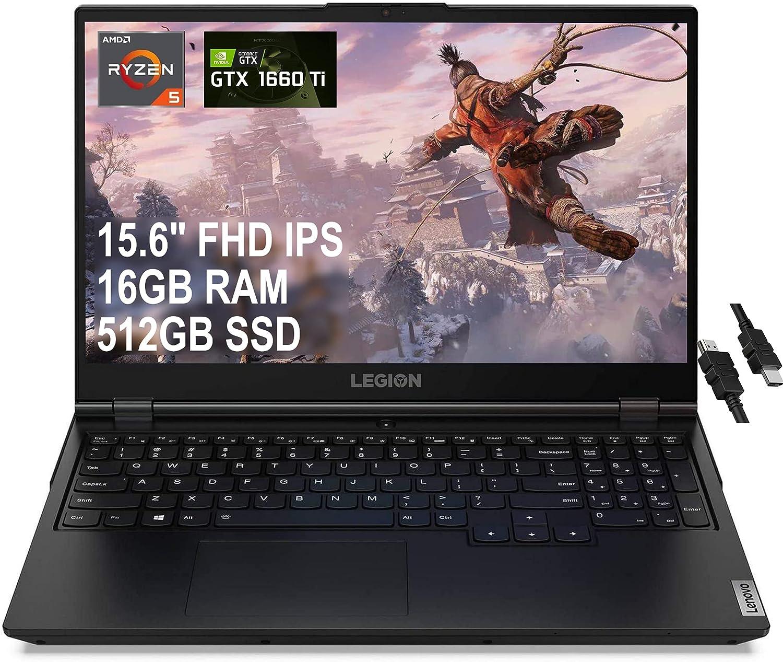 Flagship 2021 Lenovo Legion 5 15 Gaming Laptop 15.6