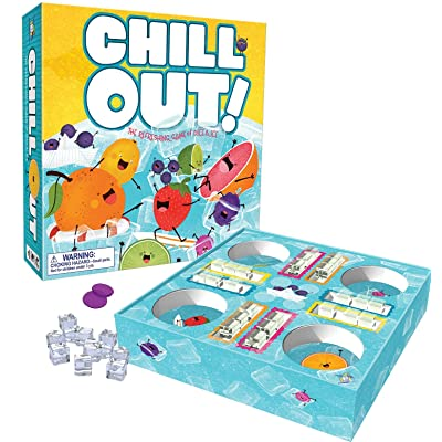 Gamewright - Chill Out! The Refreshing Game of Dice & Ice: Toys & Games