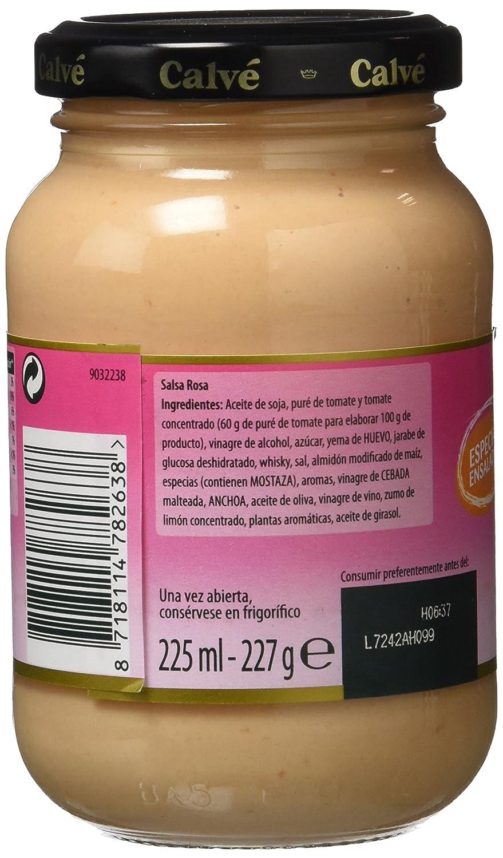 Calvé Salsa Rosa - 225 ml: Amazon.es: Amazon Pantry
