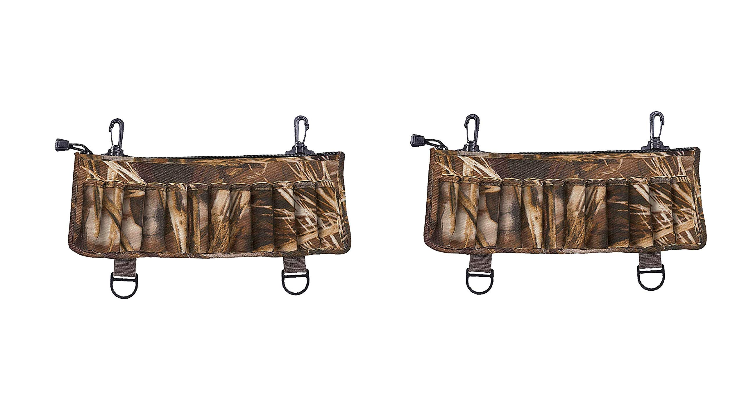 Allen Neoprene Clip-On 24 Shotshell Holder, Realtree MAX-5 Camo (Pack of 2) by Allen Company