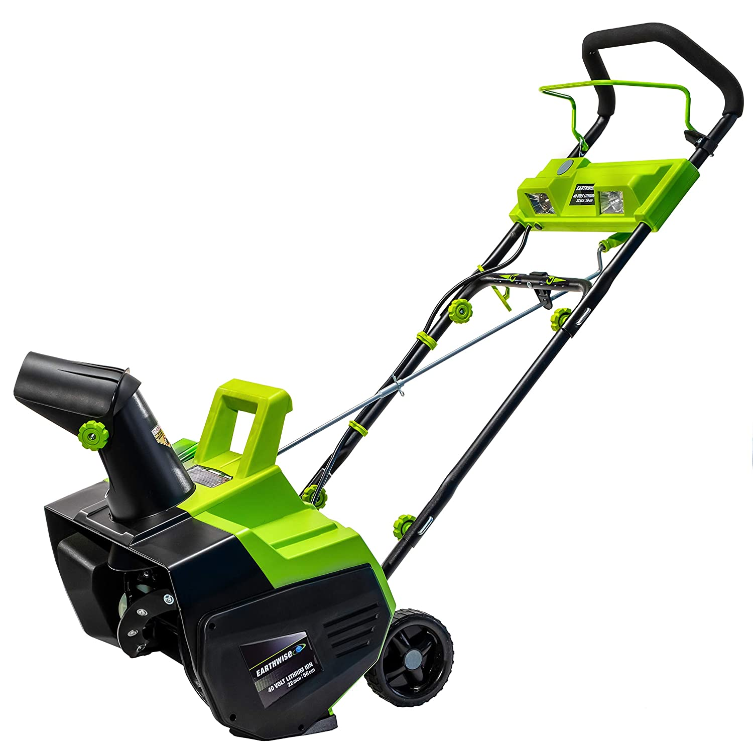 Earthwise SN74022 22-Inch 40-Volt Cordless Snow Thrower