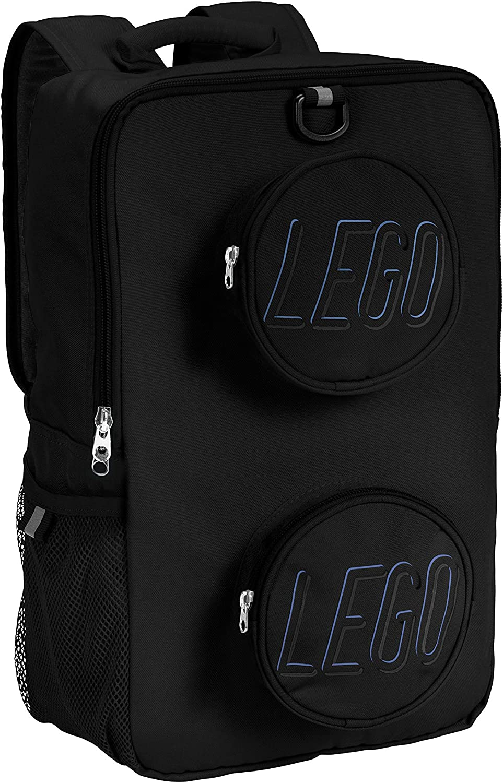 LEGO Kids Brick Backpack-Black, One Size