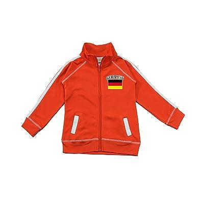 PAM GM Little Boys Germany Soccer Track Jacket