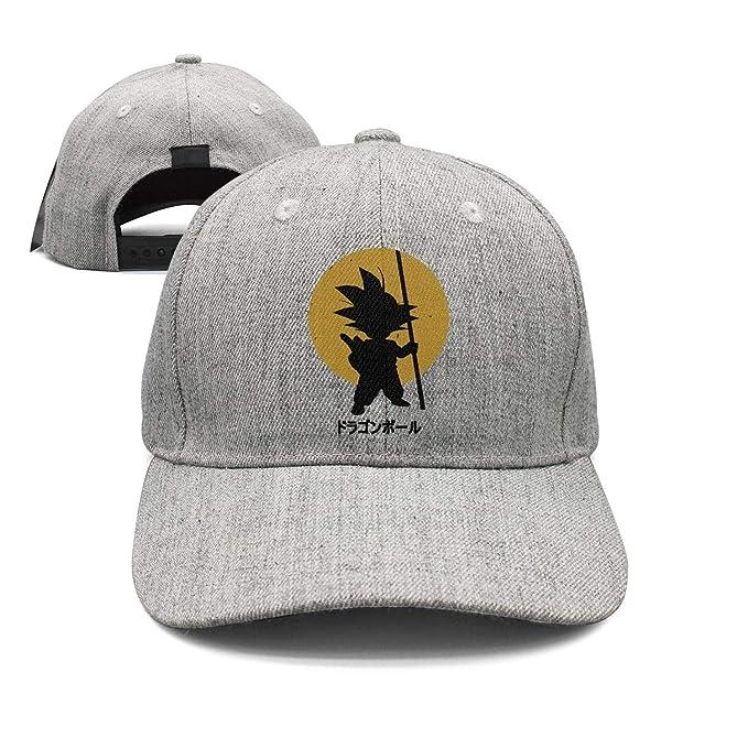 Adjustable Sun Hat Camiseta-Son-Goku-Mujer-Dragon-Ball- Mesh