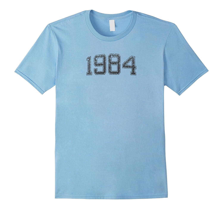 1984 Tshirt Year Vintage B-day Gift-Rose