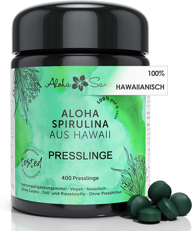 Aloha Sana Spirulina Presslinge