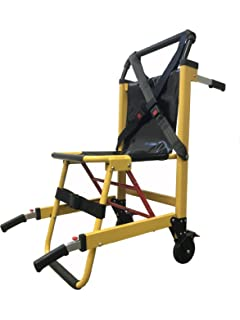 LINE2design EMS Stair Chair   Medical Emergency Patient Transfer   2 Wheel  Deluxe Evacuation Chair