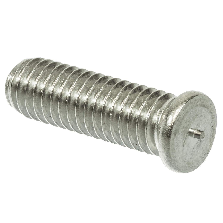 M8 und 6-60mm L/änge ausw/ählbar//DIN EN ISO 13918 f/ür Spitzenz/ündung Typ PT//VE = 100 St/ück // M8 x 25 1.4301 SCAPP Edelstahl Schwei/ßbolzen // M3
