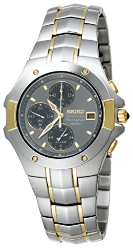 Seiko Watches SNA548 - Reloj de Pulsera Hombre, Color Plata: Amazon.es: Relojes