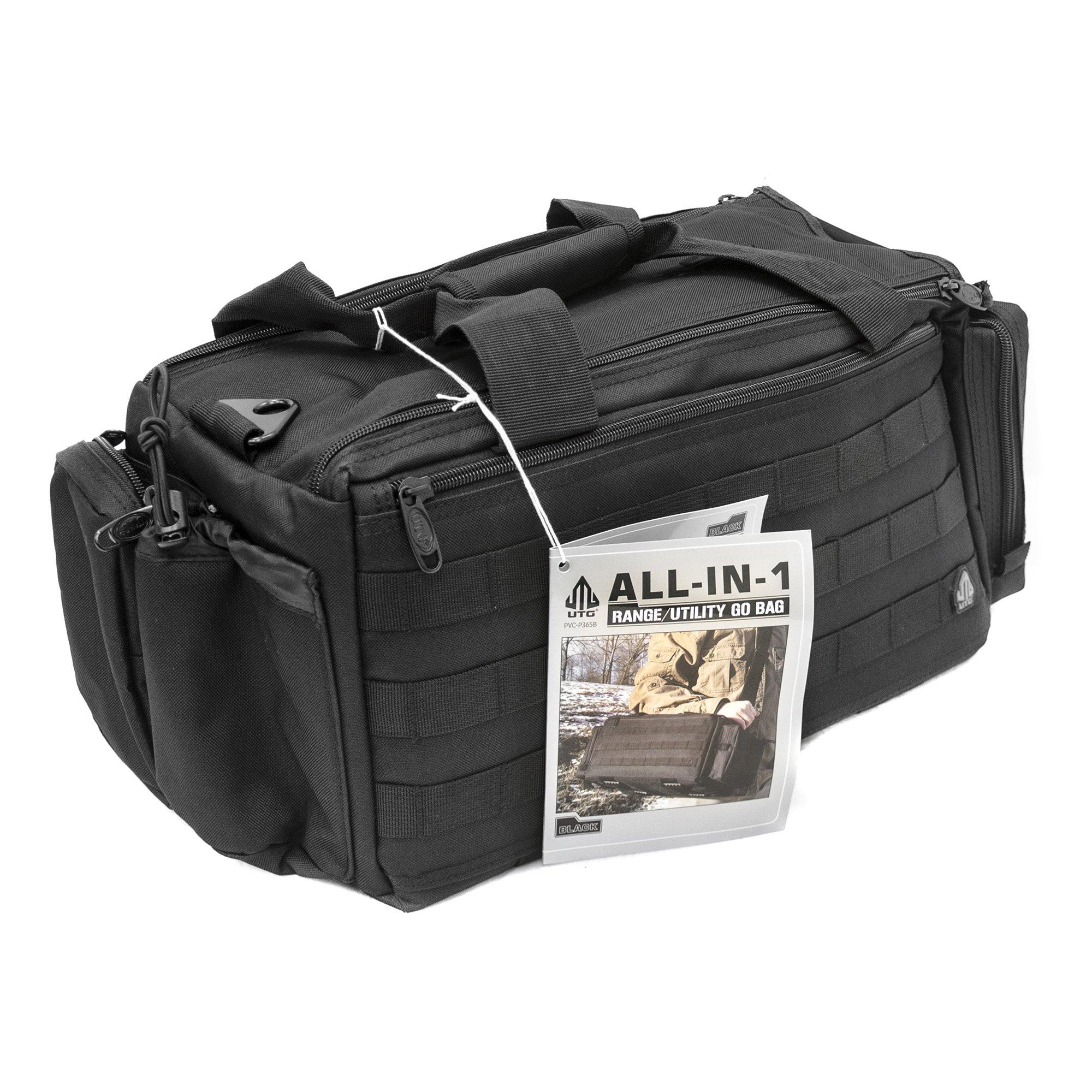UTG All in One Range/Utility Go Bag, Black, 21'' x 10'' x 9'' by UTG (Image #15)