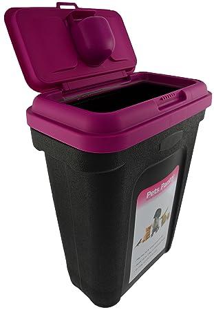 Green Jem Medium Pet Food Storage Container (Pink)  sc 1 st  Amazon UK & Green Jem Medium Pet Food Storage Container (Pink): Amazon.co.uk ...