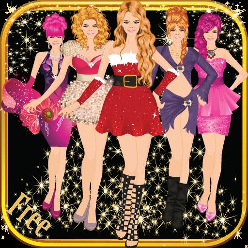 Fashion Girl Christmas Dress Up