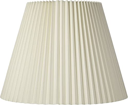 Ivory Pleated Shade 11x19x14.5 Spider – Brentwood