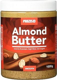 Prozis Almond Butter 1kg - Delicioso y de Textura Suave - Fuente Natural de Proteína -