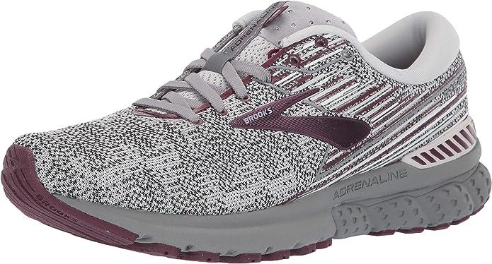Brooks Adrenaline GTS 19 Sneakers Laufschuhe Damen Grau/Lila