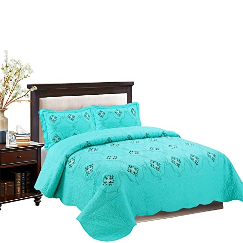 Queen Turquoise Bedspreads Amazon Com