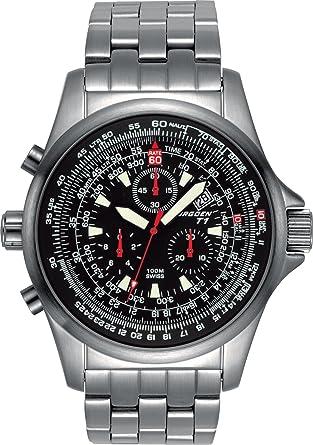 aaff3bbb17e Torgoen Swiss Men s T01202 Chronograph Pilot Computer Watch  Amazon.co.uk   Watches