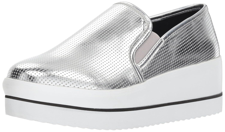 Steve Madden Women's Becca Sneaker B079M4WGJW 6.5 B(M) US|Silver