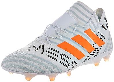new concept 16ddd 9159b adidas Nemeziz Messi 17.1 FG, Chaussures de Football Homme, Blanc  (Ftwbla Narsol