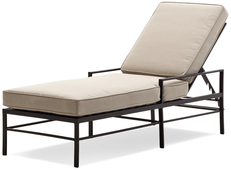 Amazon.com: Strathwood Rhodes Chaise Lounge Chair: Garden \u0026 Outdoor