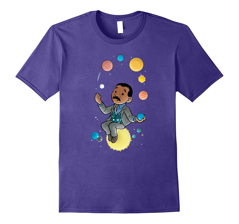 Neil deGrasse Tyson Solar System-T-Shirt