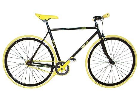 28 Pollici Fixed Gear Bike Bicicletta Single Speed Schiano Fox 85344 Cm