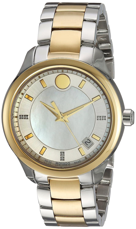 Movado Women s 0606979 Analog Display Swiss Quartz Two Tone Watch